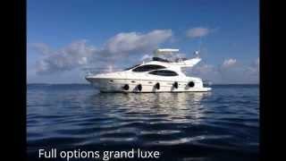 Vente bateau à moteur Vedette Azimut 42 Fly Côte Atlantique (yacht) - Annonces particuliers