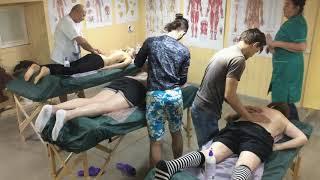 Профессиональное обучение массажу на курсах NV Master