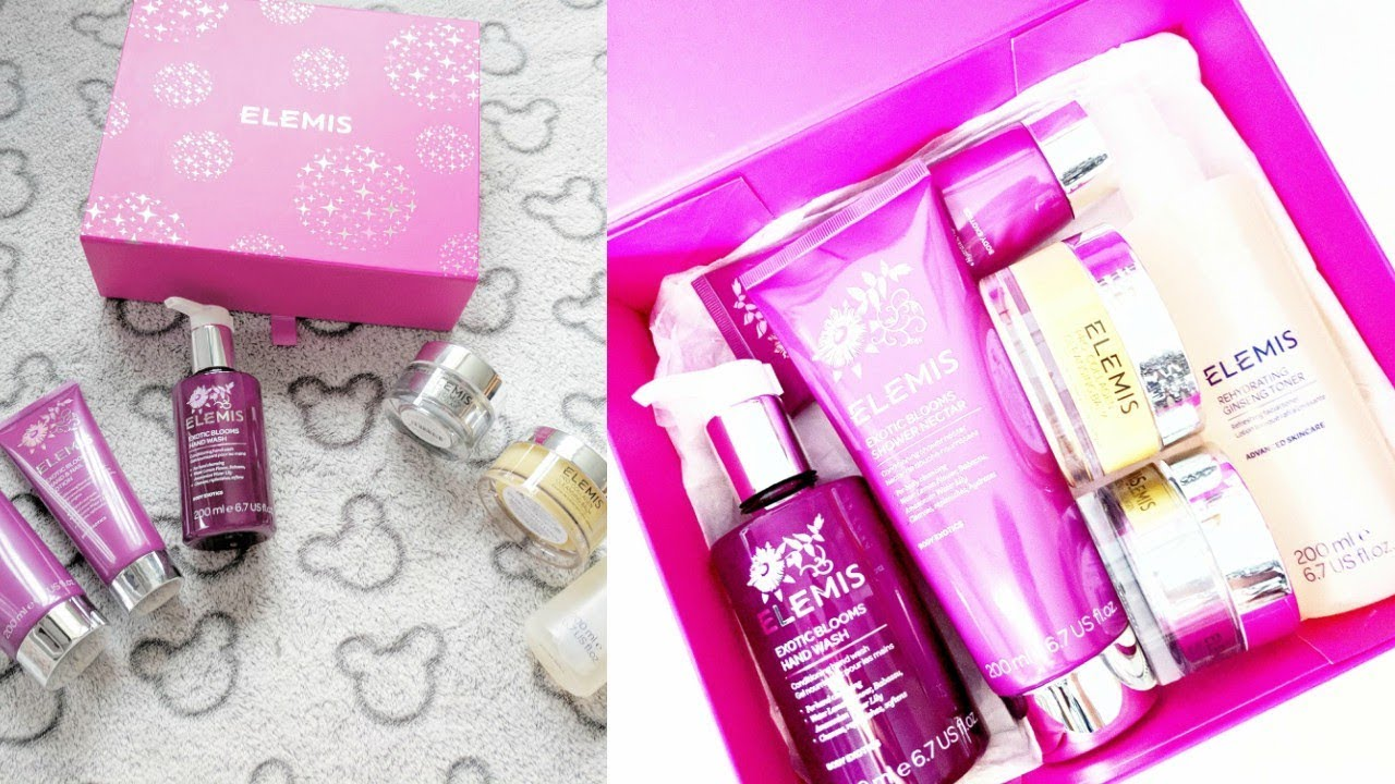 Elemis Skincare Giftset! UNBOXING!!! (QVC UK) - The Gift Of Gorgeous Skin 6 Piece Collection