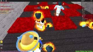 Roblox L fleeing lava l The Floor Is Lava l NHT L