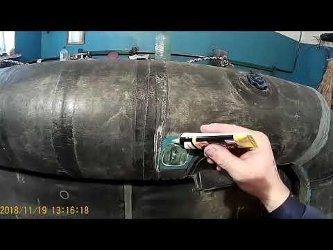 Ремонт резиновой лодки
