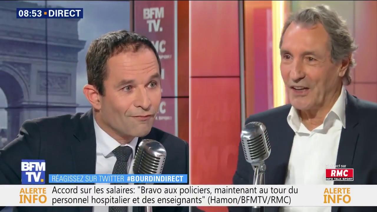Benoît Hamon, BFMTV, 20 décembre 2018 - Bourdin Direct