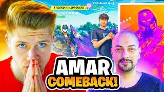 Amar macht das unmögliche Comeback mit Vadeal & Serhat 😱| FNCS Console Cup Runde 2 Viewing Party