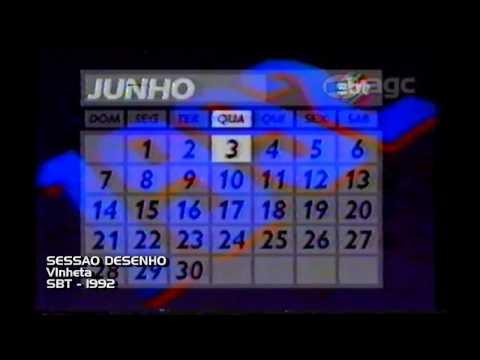 calendário-sbt---03/06/1992
