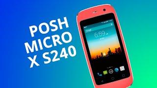 Posh Micro X S240, o menor smartphone Android do mundo! [Análise]