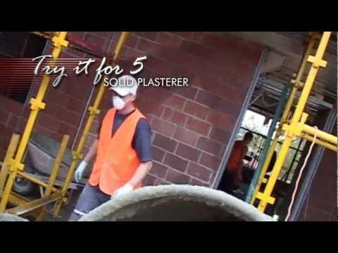 Solid Plasterer - Try it for 5