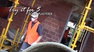 Solid Plasterer - Try it for 5