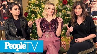 Mila Kunis, Kristen Bell, Kathryn Hahn On Mom Guilt, Reveal Parenting Advice & Stories | PeopleTV