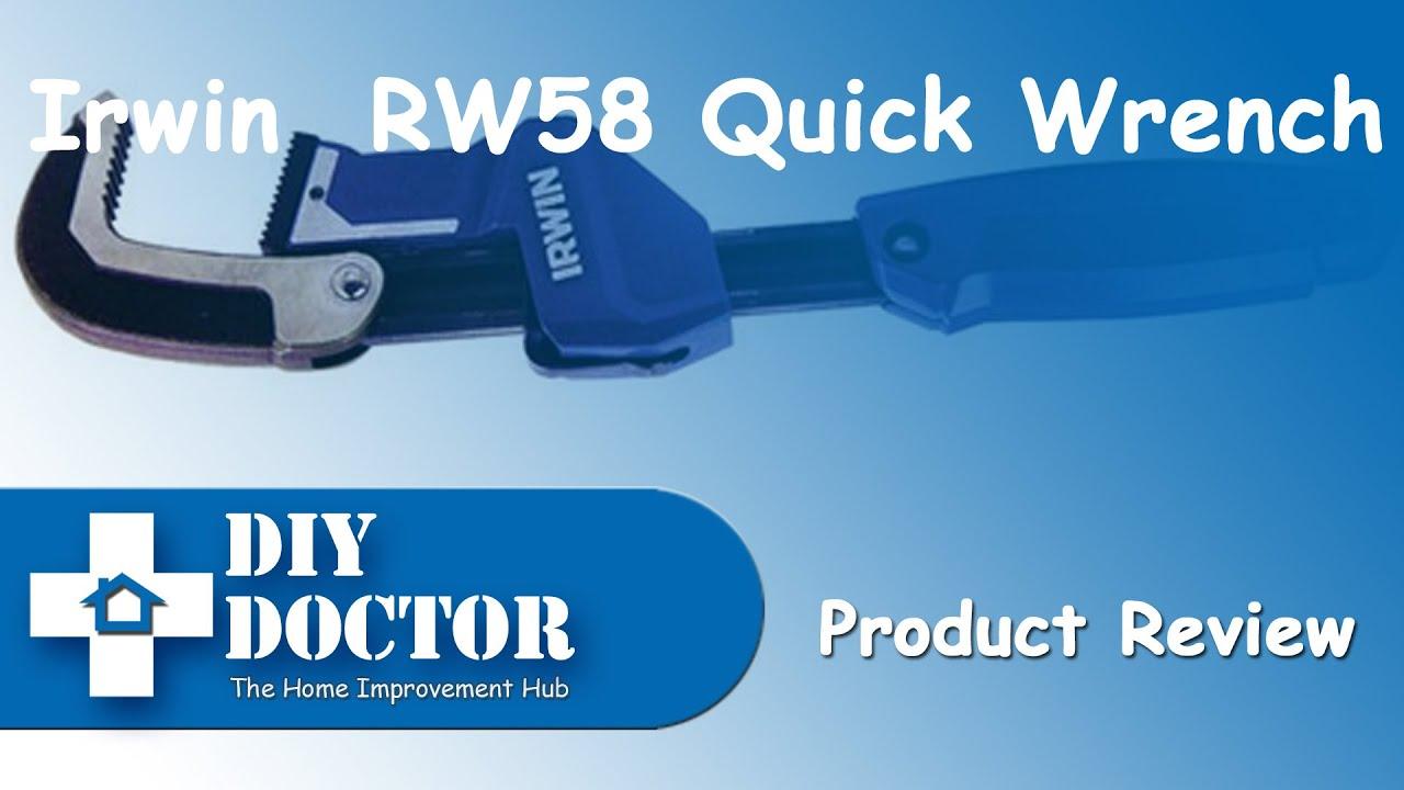 Irwin RW58 quick pipe wrench  sc 1 st  YouTube & Irwin RW58 quick pipe wrench - YouTube