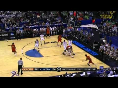 UConn vs. Bucknell - 2011 NCAA Tournament - First Round