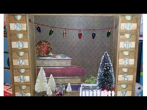 How To Create A Decorative Advent Calendar - DIY Home Tutorial - Guidecentral
