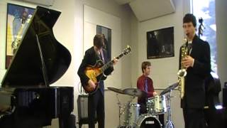 Boogie Stop Shuffle by Charles Mingus played by Rio Americano Jazz combo