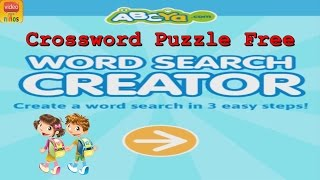 Crossword Puzzle Free - Kids | Third Grade Word Games