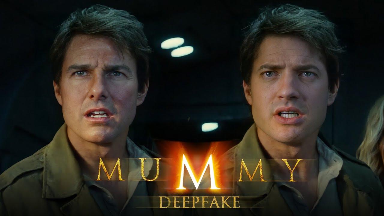 Download The Mummy Reboot but it's Brendan Fraser [DeepFake]