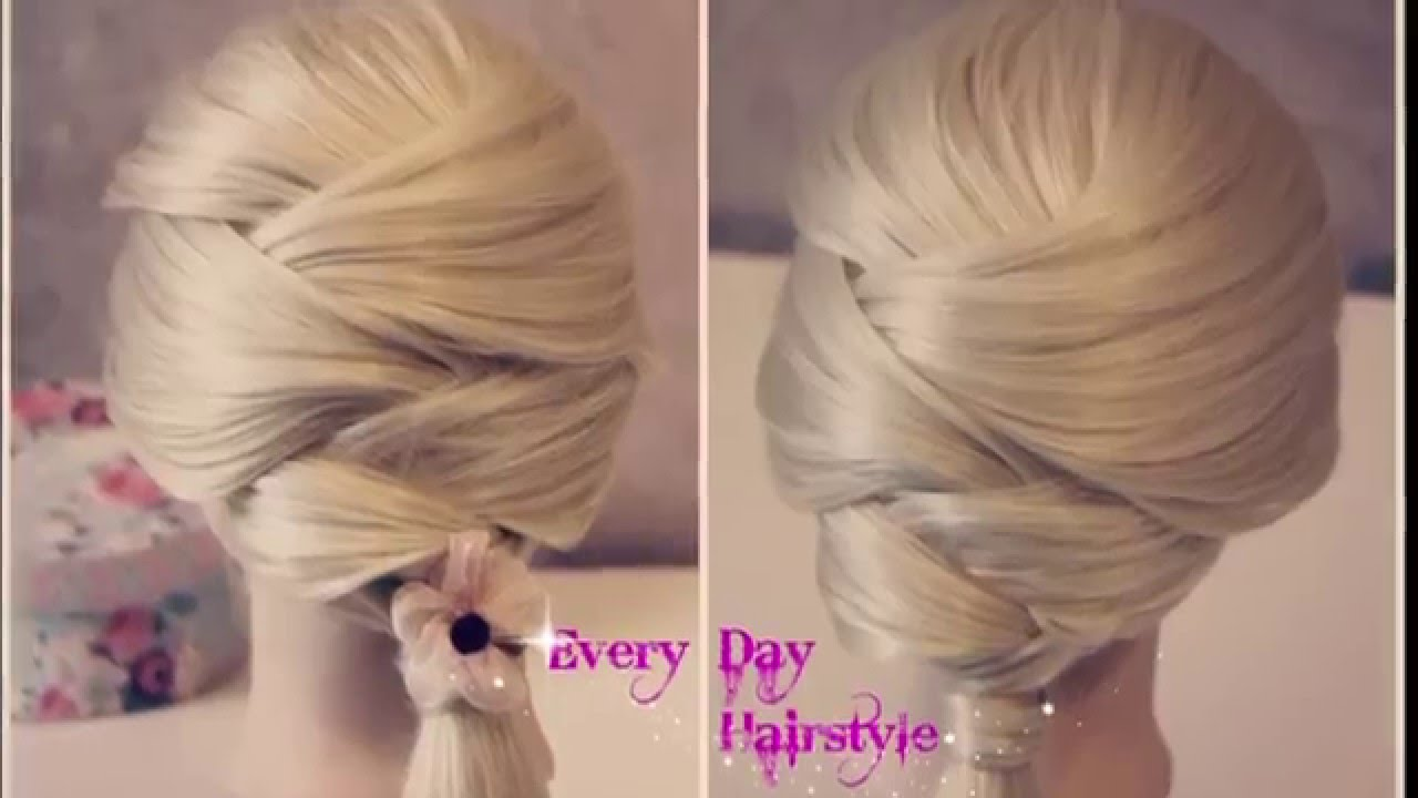 easy hair styles for work easy everyday hairstyles tutorial for hair 9109