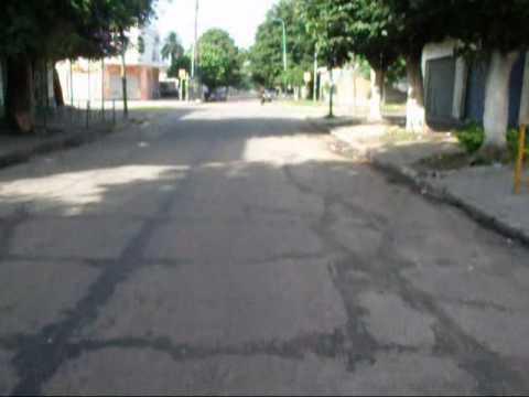 Claypole - Trayecto por calle Alcorta
