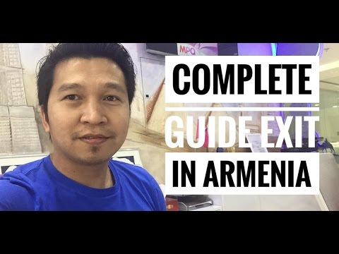 COMPLETE GUIDE ON EXIT/VISA CHANGE TO ARMENIA (via FB Live)