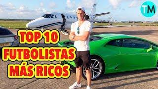 LOS 10 FUTBOLISTAS MÁS RICOS DEL MUNDO (2017 - 2018) thumbnail