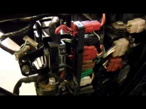 1979 Honda CBX 1000 #2997 Cables Wiring - YouTubeYouTube