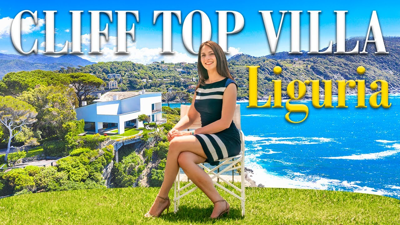 Avant-Garde cliff top villa for sale in Liguria | Lionard