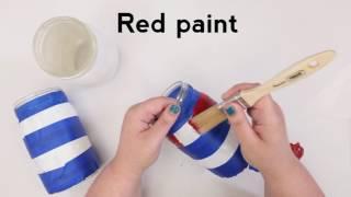 DIY Patriotic Mason Jar