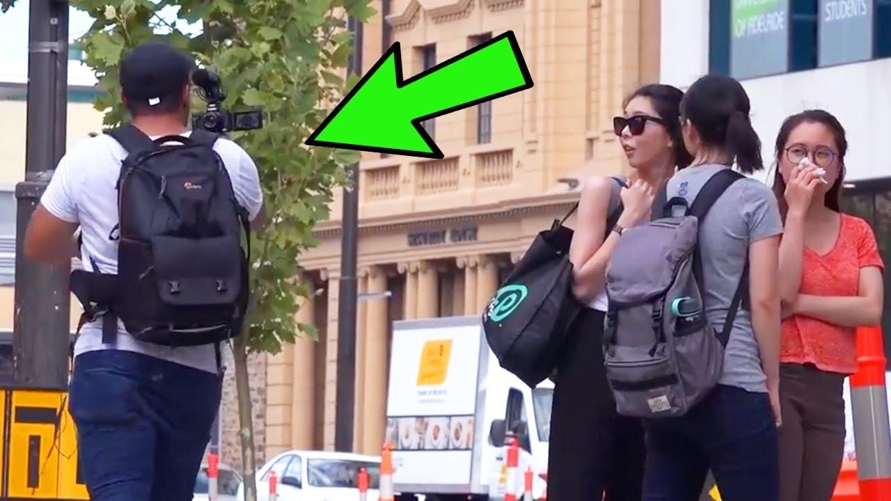 Embarrassing Vlogger In Public   TheRoyalStampede