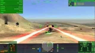 Mechwarrior 4 : Mercenaries - Gameplay footage