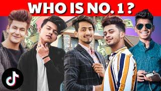 TOP 5 TIKTOK STAR IN INDIA Mr Faisu Jannat Zubair Gima Ashi Sagar Goswami Manjul