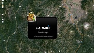 Transferring Planned Routes from Google Maps to Garmin BaseCamp Free HD Video