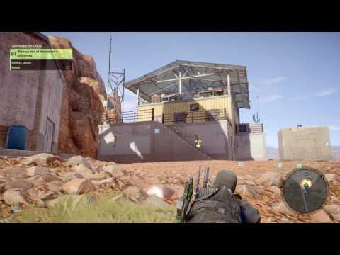 Ghost Recon Wildlands; Network Station Side Mission