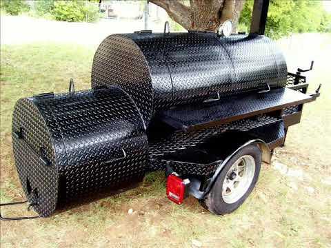 you tube vidio bbq smoker with grill bbq smoker trailer