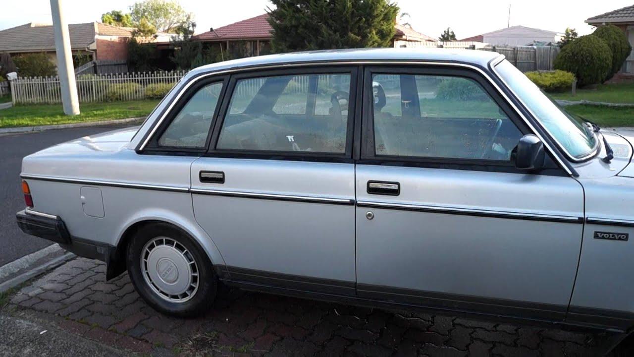 240 GL Volvo Sedan - 1987 - Wonderful Condition! - YouTube