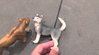 New Schleich Dog and Wolf Movie: Right or Wrong  Part 1
