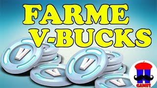 TIPS ON HOW TO FARMAR V-BUCKS AT FORTNITE SAVE THE WORLD