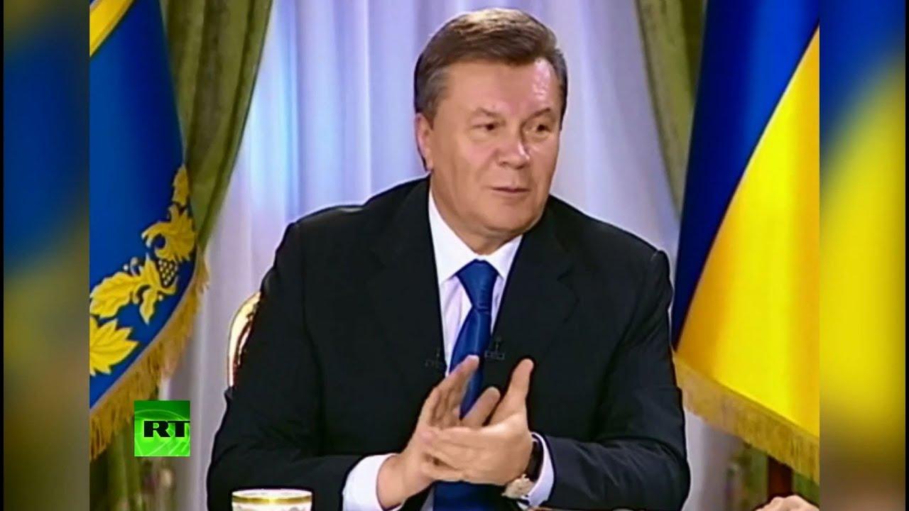 Янукович: Я аплодирую тем, кто вышел поддержать европейскую интеграцию
