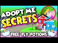 HACKS & SECRETS Plus FREE FLY POTIONS in Adopt Me!! (Working 2020!!) Prezley Adopt Me Roblox