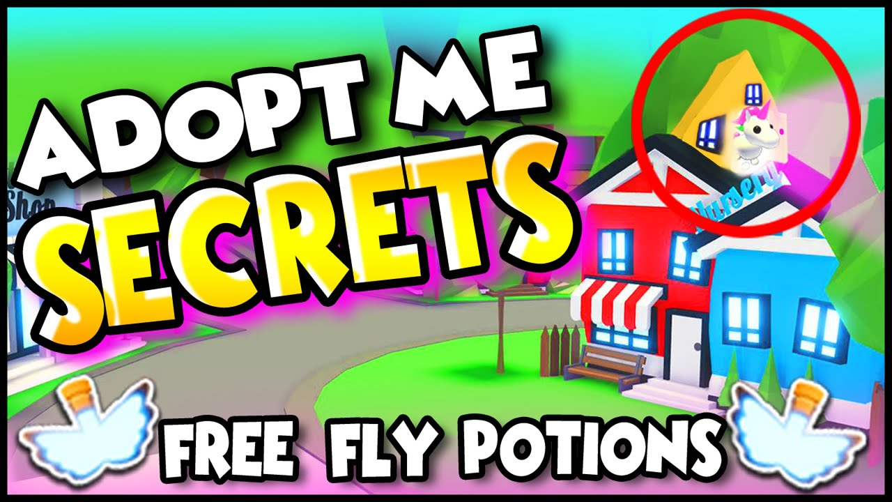 Roblox Adopt Me Free Fly Potion