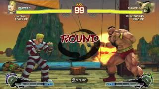 Sasaki [Cody] vs Violat203945 [Zangief] SSF4 Japanese Online Ranked Matches - TRUE-HD