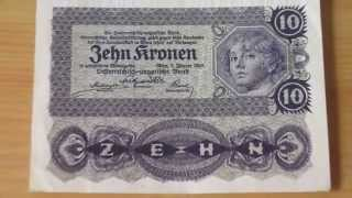 Österreich-ungarische Bank - 10 Kronen - Old money of Austria and Hungary