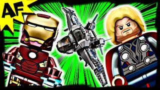 Avengers Quinjet Aerial Battle 6869 Lego Marvel Super Heroes Animated Building Review