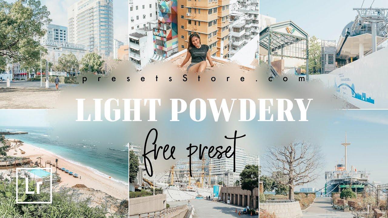 Light Powdery Presets for Lightroom | @itohton | Download Lightroom Presets Free