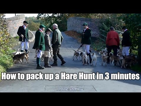 How To Pack Up A Hare Hunt In 3 Minutes