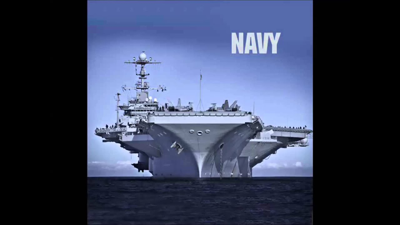 The US Navy Song Anchors Aweigh YouTube - States of america song youtube