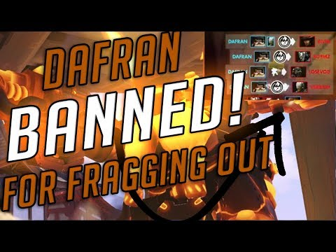 dafran - popping the fuck off with NEW torb and getting banned
