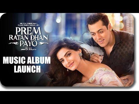 Salman's Prem Ratan Dhan Payo Music Album To Release Today