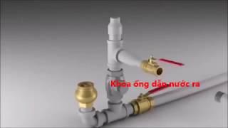 cấu tạo và nguyên lý máy bơm thủy áp không dùng động cơ