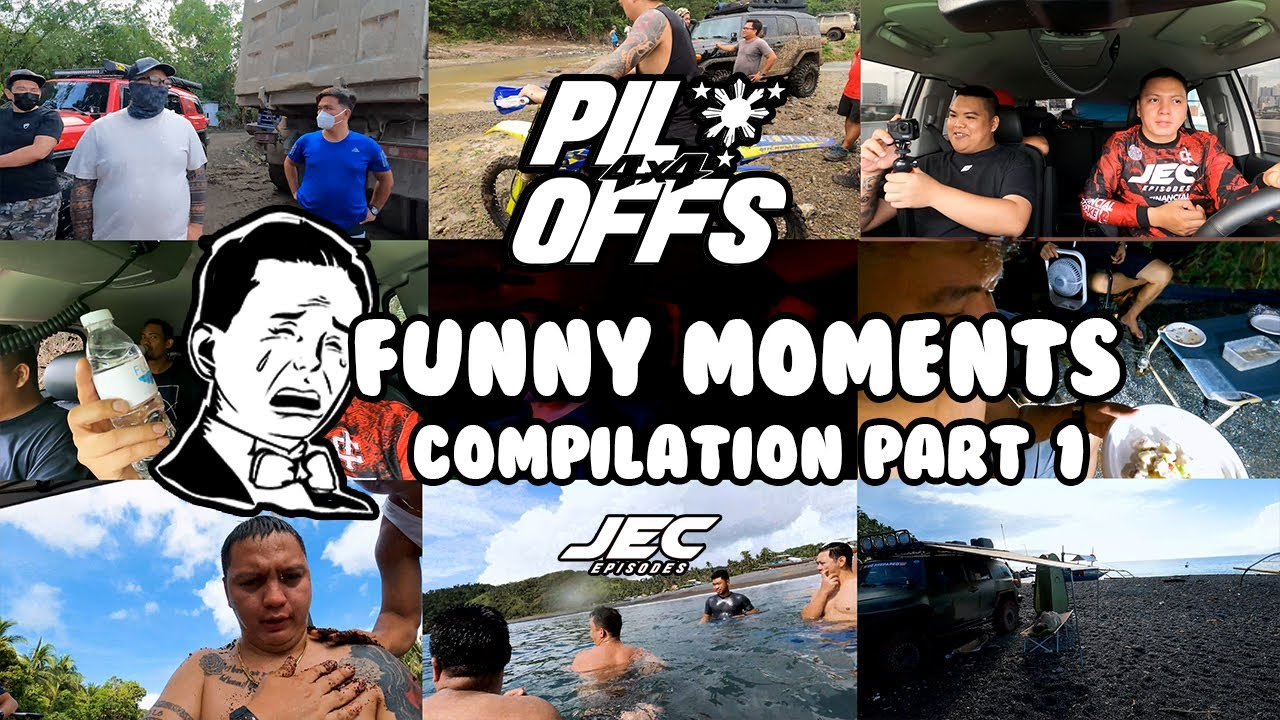Pilipinas Offroaders Funny Moments Compilation Part 1-Jec Episodes