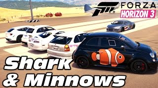 Forza Horizon 3   Shark and Minnows (Mini Game)
