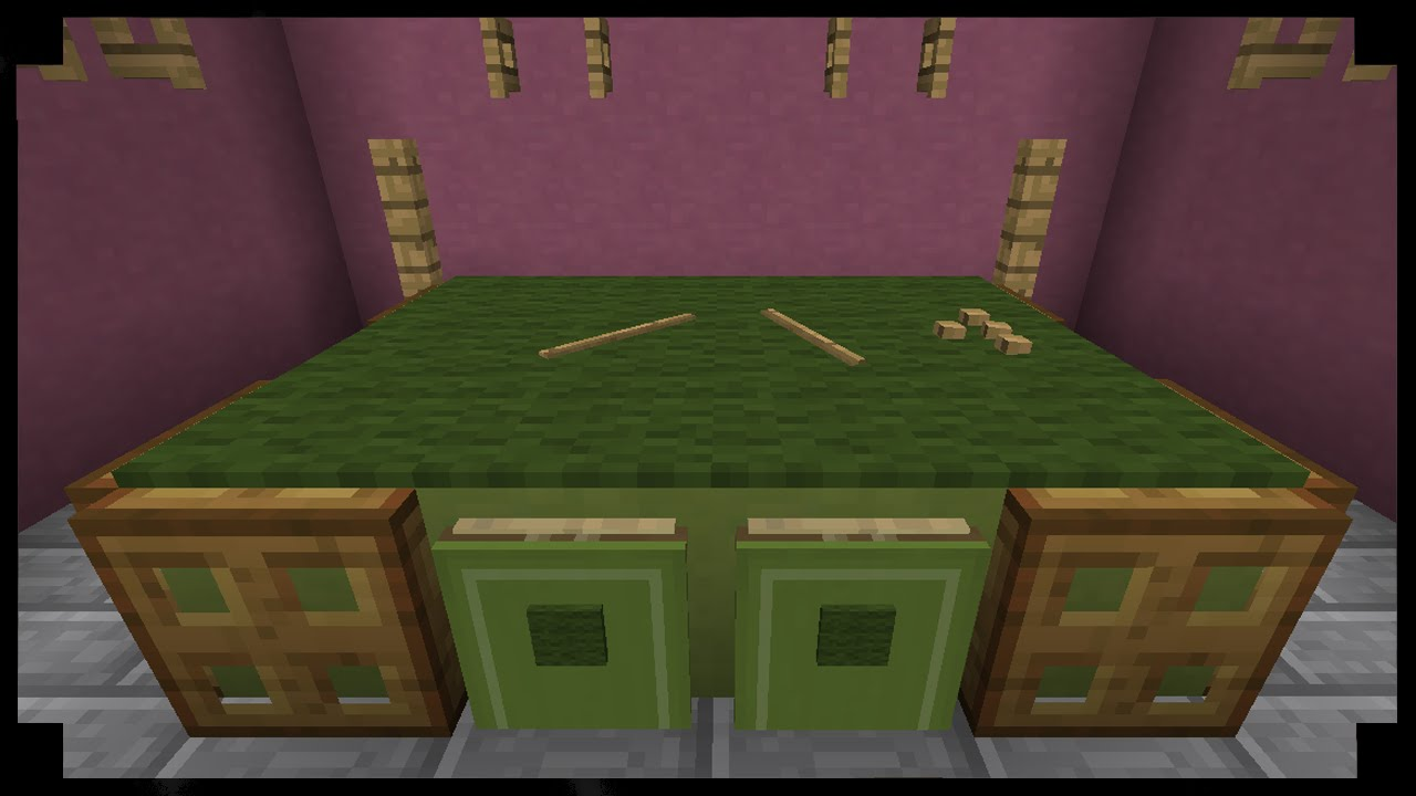 ✪Minecraft: How to make a pool table!