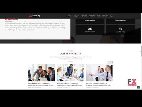 Consulting - Consulting and Business HTML Template        Bennie Quin